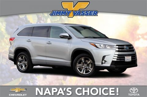 Pre-Owned 2018 Toyota Highlander Hybrid Limited Platinum